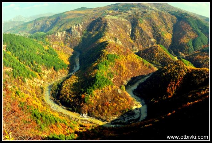 Пейзаж в Родопите