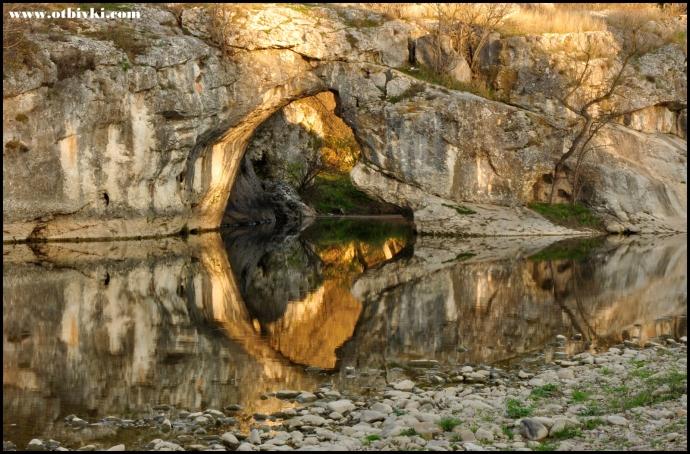 Скална арка - с. Ъглен