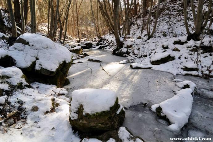 Снежен пейзаж