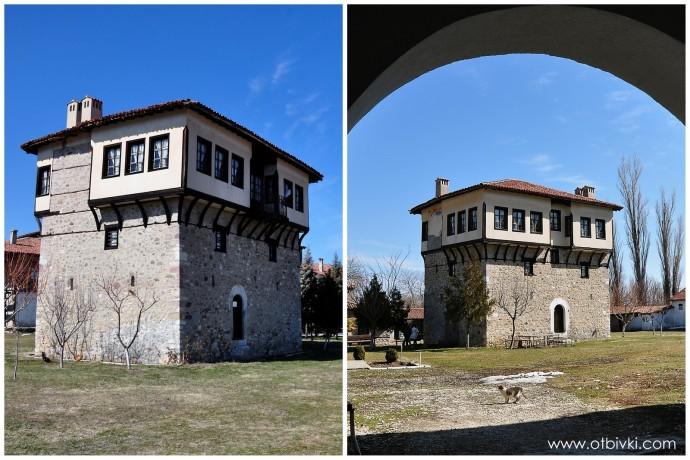 Кулата на Ангел войвода в Араповския манастир